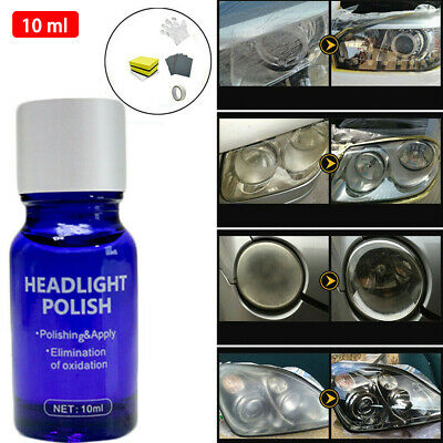 9H Hardness Car Headlight Len Restorer Repair Liquid Polish Vehicles Clean Tools