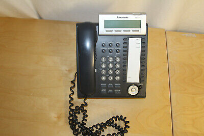 Panasonic KX-DT333-B 24 Button Digital Display Speaker Telephone 3 Lines Used