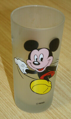 Monkeys Of Melbourne Disney Mickey Mouse Frosted Glass
