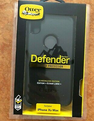 OtterBox Defender Cover For Apple iPhone XS Max Case Black
