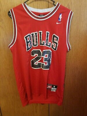 #23 Michael Jordan Chicago Bulls Throwback RED Jersey Men's or Youth Small