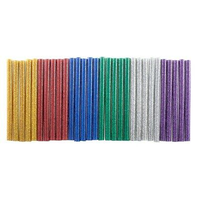 30pc Glitter Glue Stick (7 x 100mm) - Silver, Gold, Red, Blue, Green & Purple
