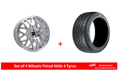 """Alloy Wheels & Tyres 19"""" Dare LG2 For VW Eos 06-14"""