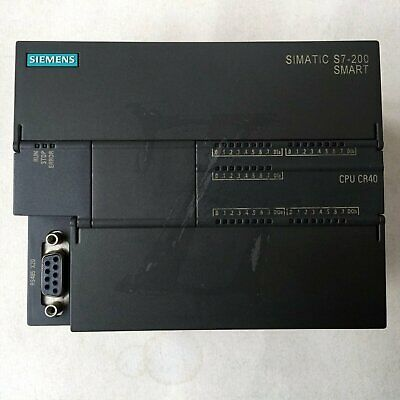 Used Siemens S7-200SMART 6ES7 288-1CR40-0AA0 Tested Good Fast delivery