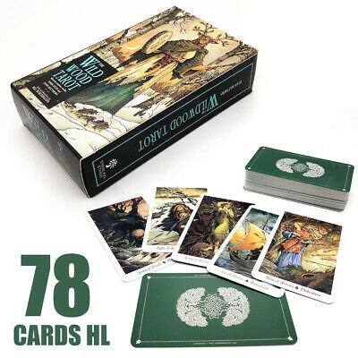 78 Cards Tarot Forecasting CHL Deck Vintage Antique The Wildwood ards Box Game
