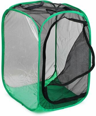 """RESTCLOUD 36"""" Large Monarch Butterfly Habitat Collapsible Insect Mesh Cage NEW"""