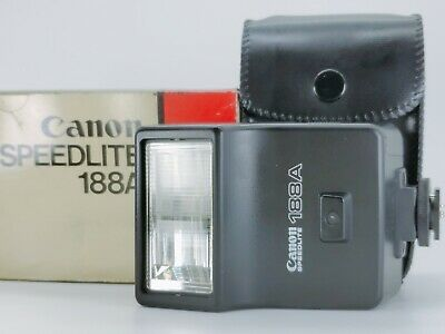 [T Mint] Canon Speedlite 188A Shoe Mount Flash for CANON A-1 AE-1 F-1 From Japan