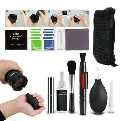 10 in1 Professional Camera DSLR Cleaning Lens Kit for Panasonic Nikon Canon Sony