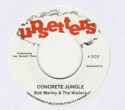 """Bob Marley & The Wailers – Concrete Jungle MINT 7"""" UPSETTERS LEE PERRY"""