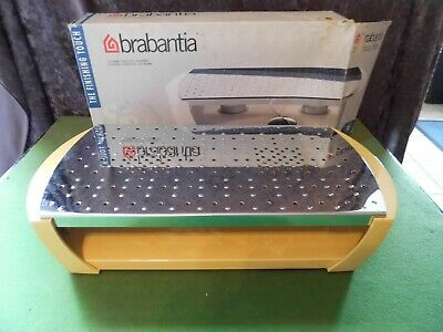 Brabantia Foodwarmer - 2 Burner - Yellow With Stainless Steel - New & Unused