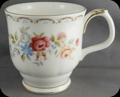 Royal Albert Jubilee Rose Footed Coffee Mug