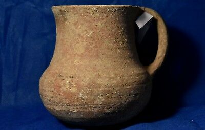 Iron age JUDAEA Juglet 10-7 Century BC. Ancient Holy Land Judea Temple times.