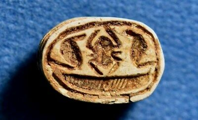 Scarab seal Hixos / Hyksos Middle bronze Canaanite 2000-1550BC. Archaeology.