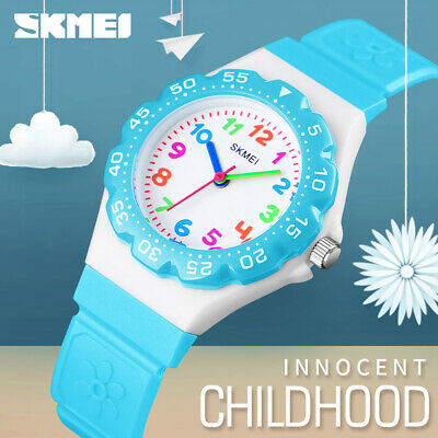 Skmei Trendy Kids Sports Wristwatch Boys Girls Waterproof Quartz Watch 1483 79A