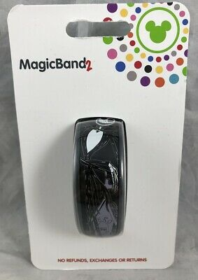 Disney Parks Nightmare Before Christmas Jack Sally 2019 Magic Band 2 WDW - NEW
