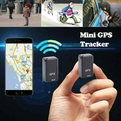 Magnetic Mini Car GPS Tracker Kids GSM GPRS Real Time Tracking Locator Device