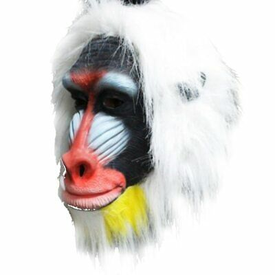 Holloween Party DIY Design Latex Adult Size Fashion Realistic Baboon Mask