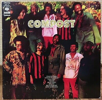 Compost - Take Off Your Body 1972 Japan White Label Promo Lp Cbs/Sony Sopl-33