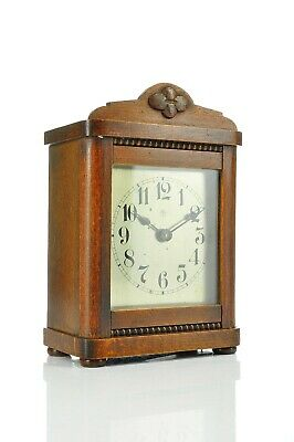 Superb Antique Junghans Alarm Clock with Bell approx. 1915 Germany