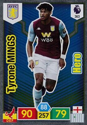 Panini Premier League 2019/20 Adrenalyn XL #363 Tyrone Mings (Aston Villa) HERO