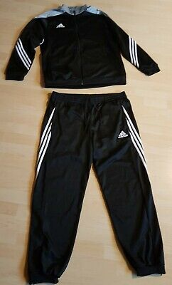 hot sale hot product lowest price TRAININGSANZUG ADIDAS SERENO 14 Schwarz-Silber / neuwertig ...
