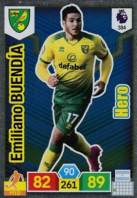 Panini Premier League 2019/20 Adrenalyn XL #384 Emiliano Buendía (Norwich) HERO