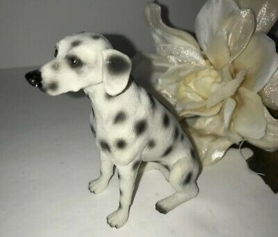 Dalmation Dog Figure Collectible Animal Figurine Resin Ceramic