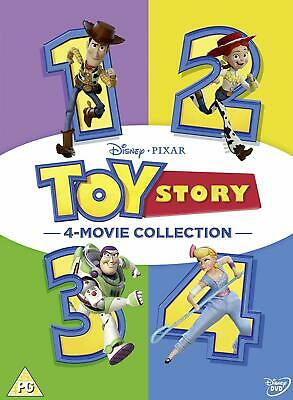 Toy Story 1-4 New DVD Box Set 4 Movie Collection