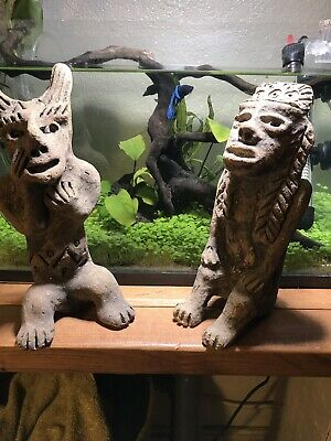 Vintage Pre Columbian Aztec And Mayan Statues