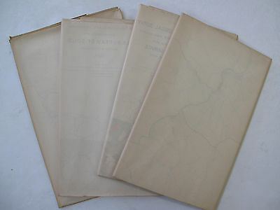 Maps Worcester Co. Maryland Forest Soil Election Districts Snow Hill Berlin 1905