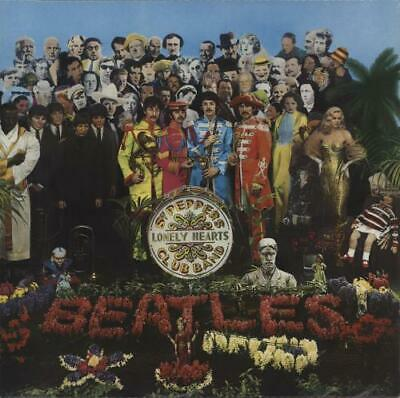 Beatles vinyl LP album record Sgt. Pepper's - 2016 - EX UK PCS7027 PARLOPHONE