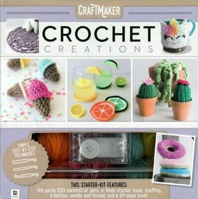 Crochet Creations Learn to Crochet Kit Free Postage