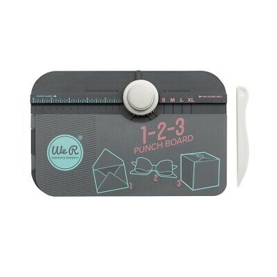 We R Memory Keepers 123 Punch Board Free Postage