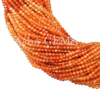 Natural /& Genuine Morganite Micro Faceted 2 mm Seed Beads Rondelle 13 Full Strands jewelry Crafting Free Shipping