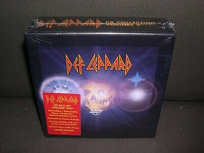 Def Leppard LIMITED EDITION CD Box Set Volume Two 7-CD NEW Vol 2 SEALED