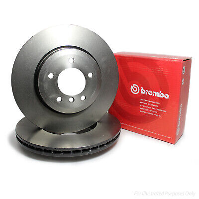 Genuine OE Quality Brembo Front Vented Brake Discs - 09.4883.10