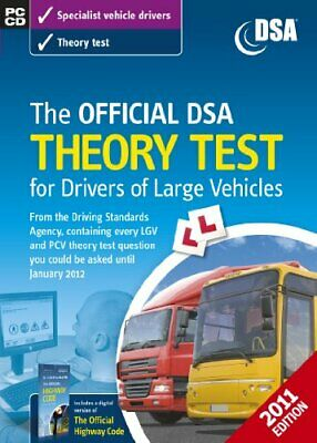 The Official DSA Theory Test for Drivers of La... by Driving Standards Ag CD-ROM