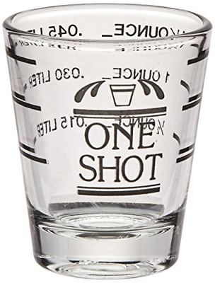 Bullseye Measured Shot Glass by True