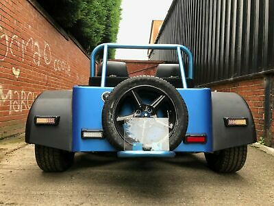 Rear LED 75mm Reverse Light//lamp Carbon Pod Kit Car Caterham//Westfield//Locost