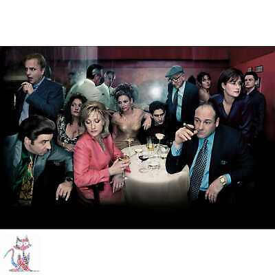 A3 A1 A4 Sizes Available The Sopranos Vintage Poster A2