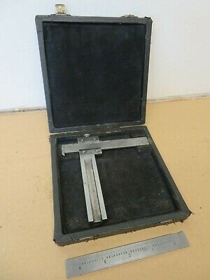 "Dathan Tools Step / Flat Shaft 3"" Vernier Caliper In Box ME2556"