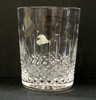 """Waterford Whiskey Glass, D: 3.5"""" H: 4.5"""", Crystal, Antique"""