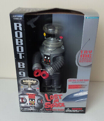 Robot B-9 LOST IN SPACE  CLASSIC SERIES 1997 Space Productions Trendmasters NEW