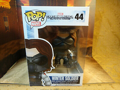 Funko Pop Marvel Captain America Winter Soldier #44 Vaulted/Retired - Protector