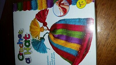 Learn to Crochet Beanie Kit Free Postage