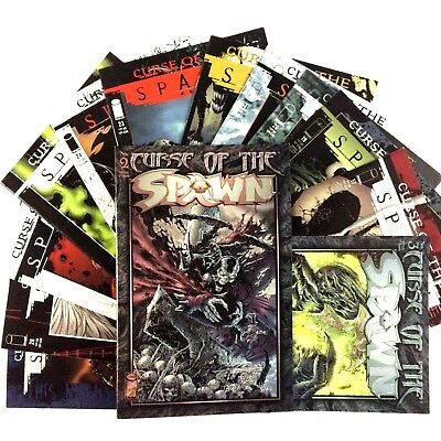 Curse of the Spawn Comic Book Lot 13 Issues Image VF NM 1st Prints Movie