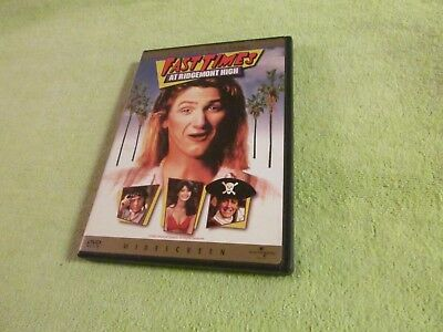 Fast Times at Ridgemont High (DVD, 1999,Collectors Edition) Phoebe Cates