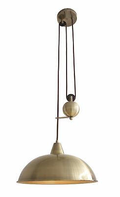 NEW Jess Rise & Fall Pulley Ceiling Pendant Light