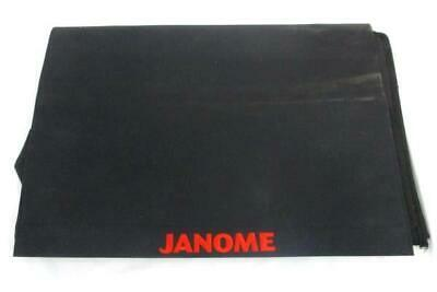 Janome Cloth Dust Cover Sewing Machine Black Cover