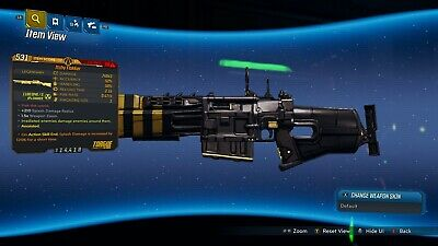 "Borderlands 3 ""Itchy Flakker"" Anointed LVL 50 Weapon GOD ROLL XBOX ONE"